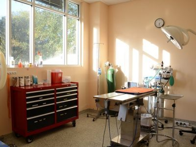 One of the operating rooms